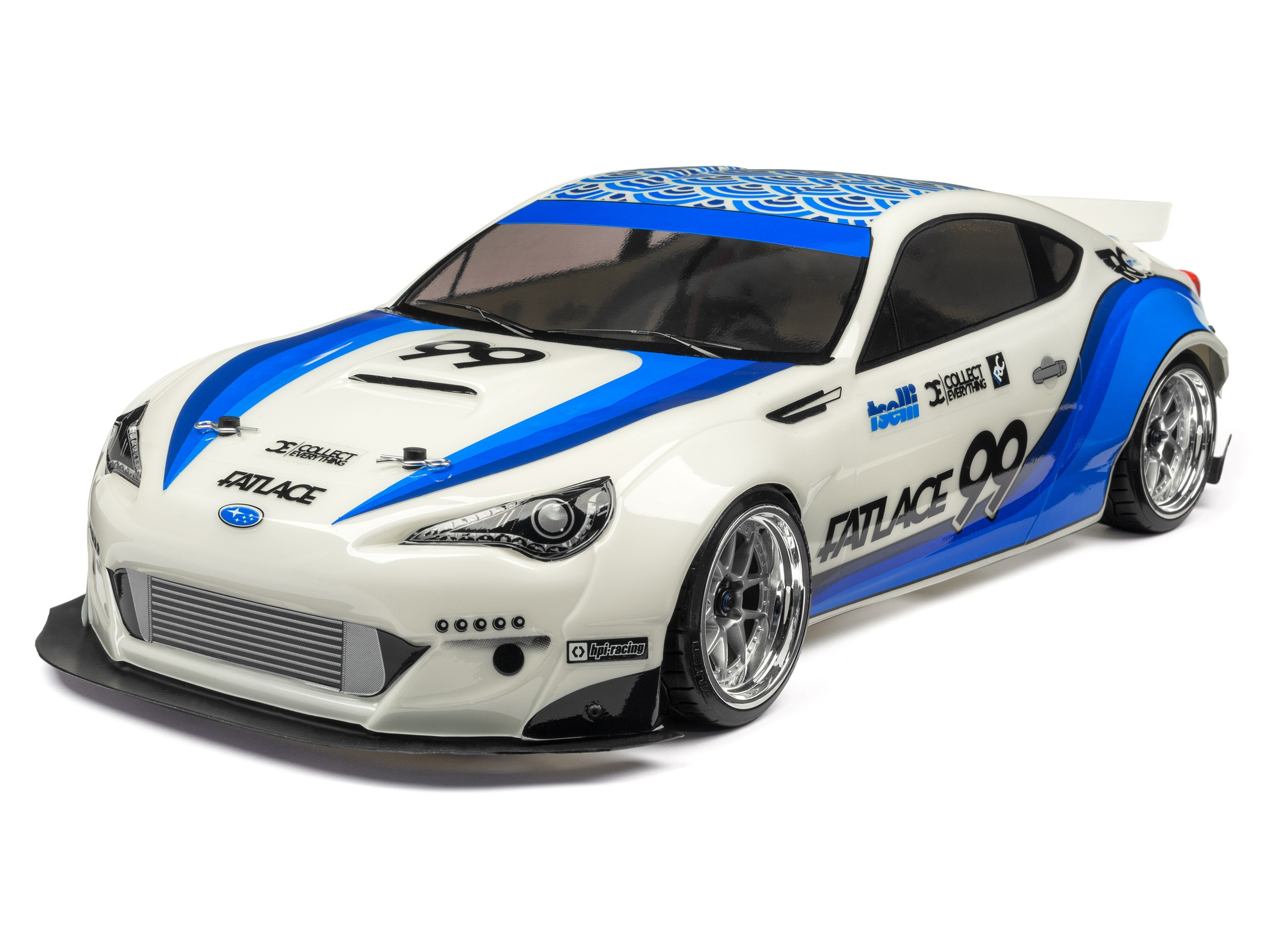 HPI Fatlace Subaru BRZ Painted RC Touring Body 200mm - 114644
