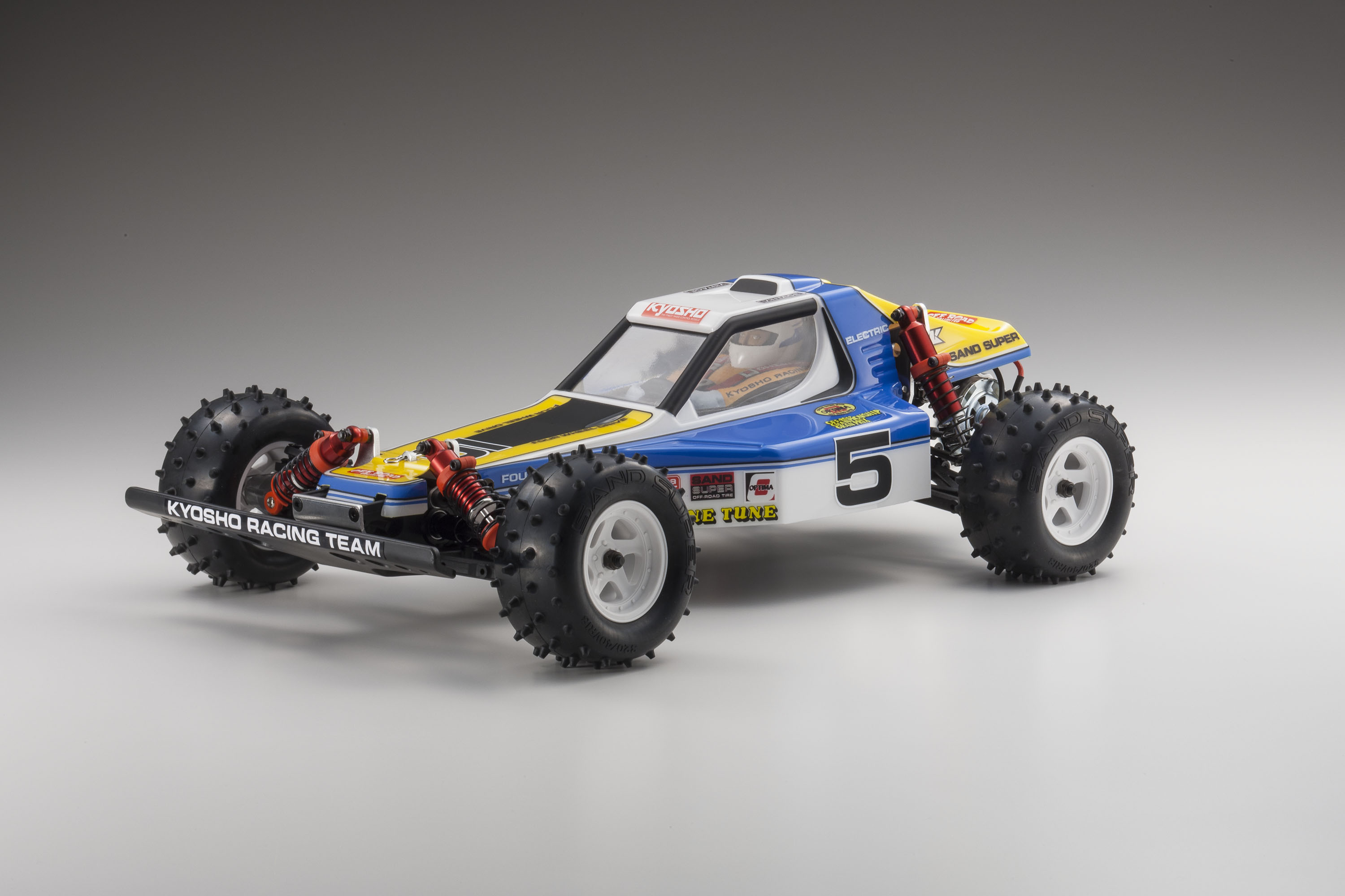 Kyosho Legendary Series Optima Re-Release 1/10 RC Electric 4wd Buggy