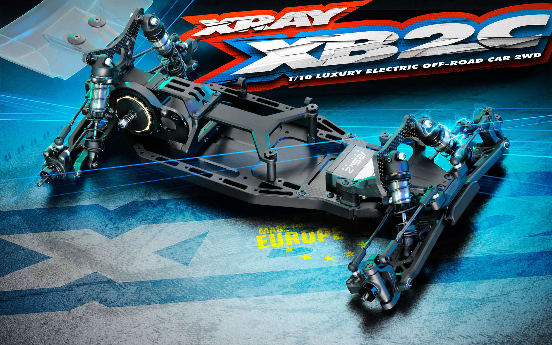 Team Xray XB2 2019 Carpet Edition 1/10th 2wd Buggy