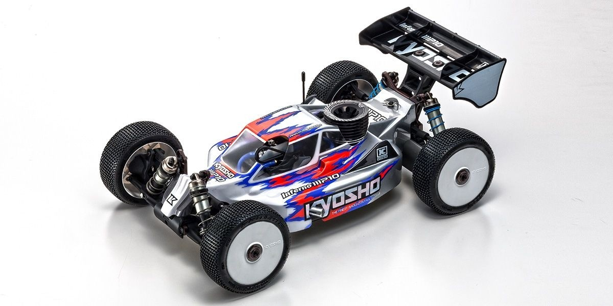 Kyosho Inferno MP10 1/8th Scale 4wd Nitro Buggy Competition Kit 33015B