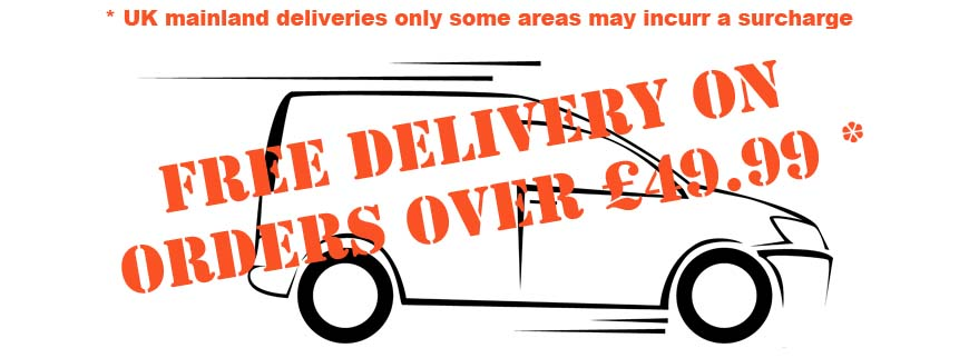 Free delivery banner