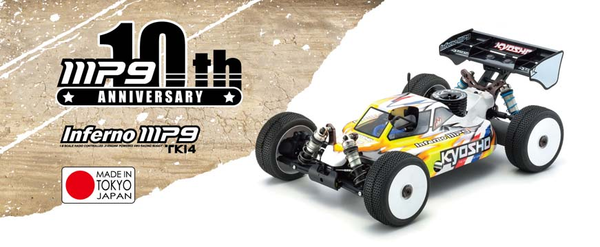 Kyosho Inferno MP9 TKi4 10th Anniversary Edition